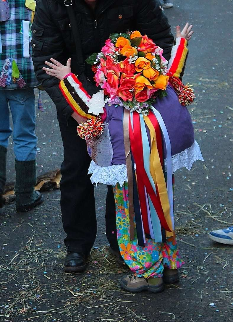 Maschera di Carnevale a Schignano