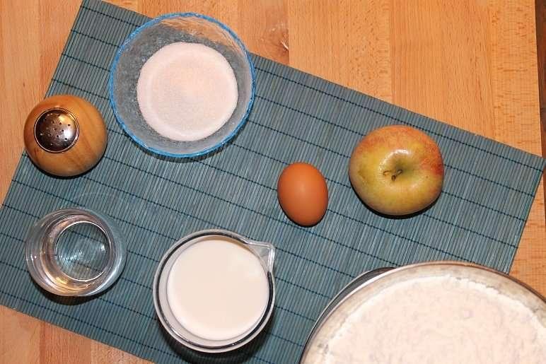Paradello con le mele, la ricetta