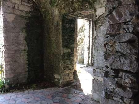 stanze del rifugio del guardiano del giardino del merlo