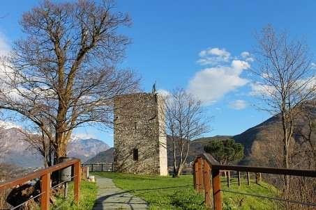 La Torre di Rogaro a Tremezzo