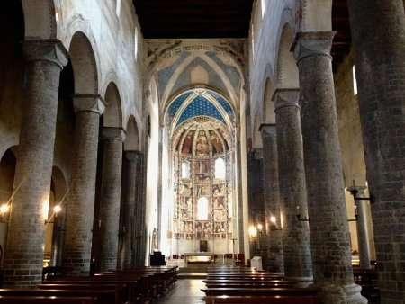 affreschi basilica di sant'abbondio a como