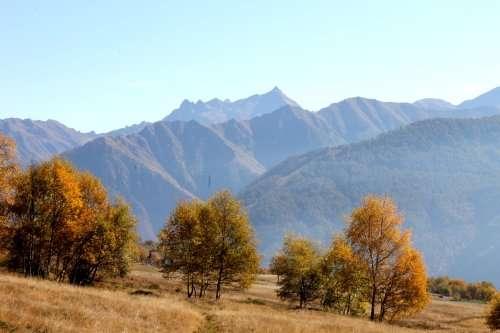 autunno sul lago di como