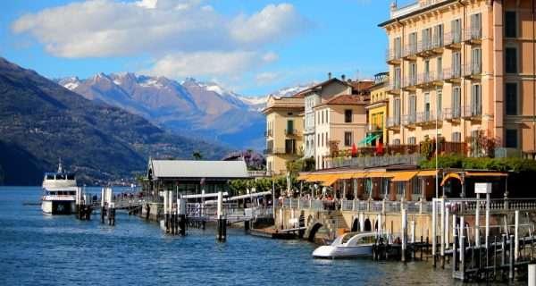 Bellagio, il borgo e la punta spartivento