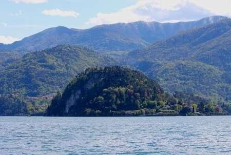 Promontorio di Bellagio con punta spartivento