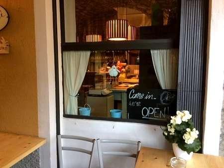 ingresso del Bistrò di Argegno dove mangiare prodotti ottimi