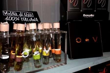 bottiglie di vodka italiana