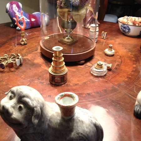 oggetti esposti in villa fogazzaro
