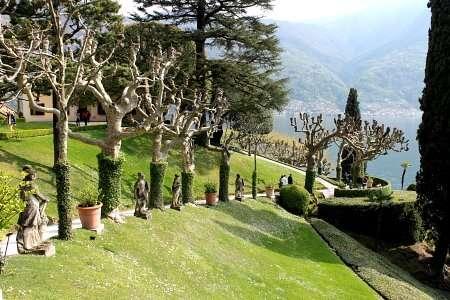 giardino di villa balbianello a lenno