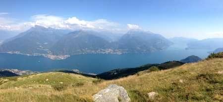 Trekking lago di Como Rifugio Canua