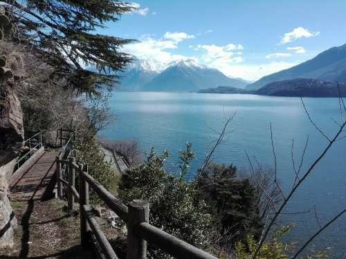 paesaggio lago como