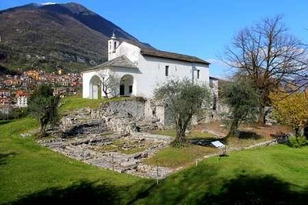 chiesa sull'isola comacina lago di como