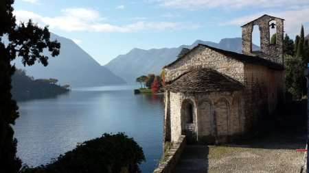 chiesa di san giacomo ossuccio lago di como