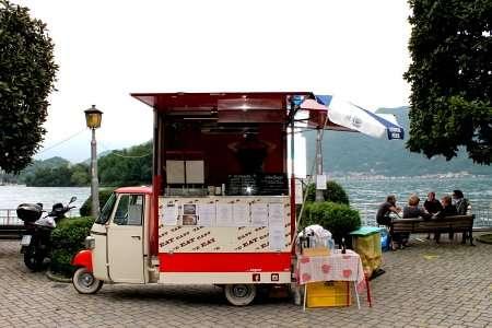 street- food sul lago di como