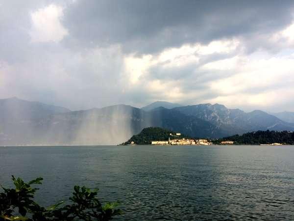 bellagio giornata di pioggia