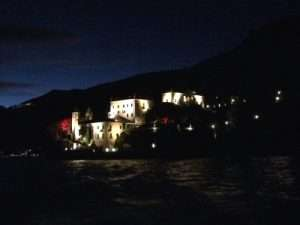 villa balbianello illuminata