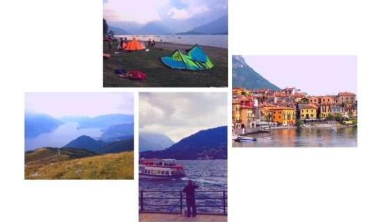 mix photo lake como
