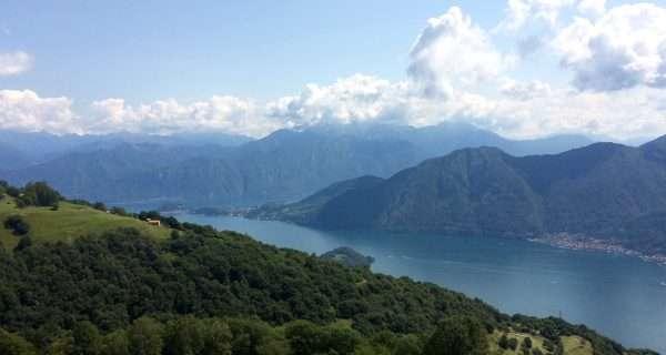 lago visto dall'alto