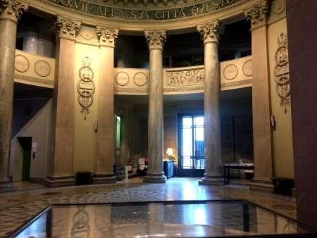 interno tempio voltiano