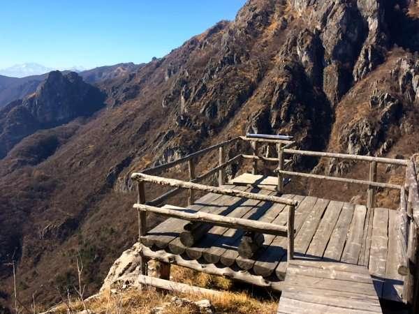 balcone da cui vedere il panorama