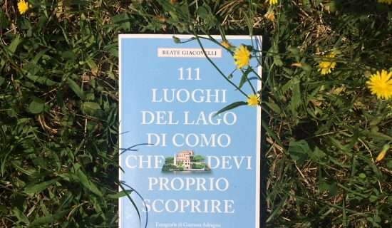 cover of the guide on the como lake