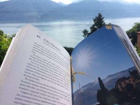 Capitolo con immagine del libro guida sul Lago di Como