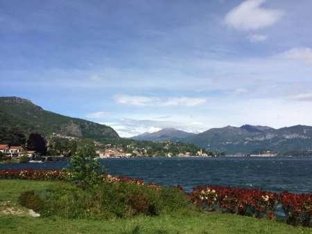 Vista dal Chiosco di Venere sul Lago di Como