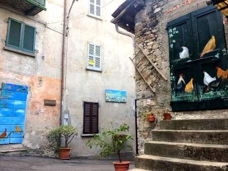 borghi dipinti lombardia, Claino con Osteno