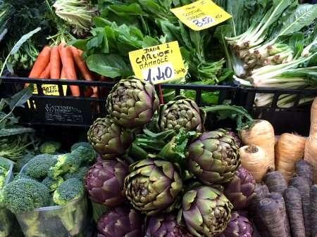 ortaggi mercato coperto como