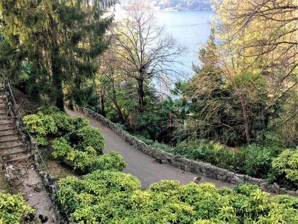 Parco pubblico di Blevio, Lago di Como