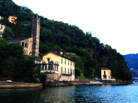 Spiaggi libera di Careno sul Lago di Como
