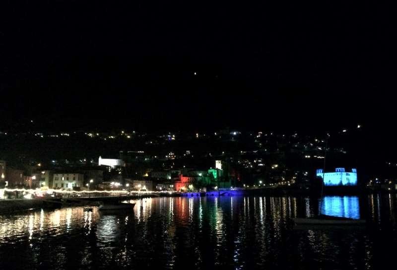 inverno sul lago di Como, le luci di Natale a Gravedona